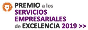 Premio a los servicios empresariales de excelencia 2019