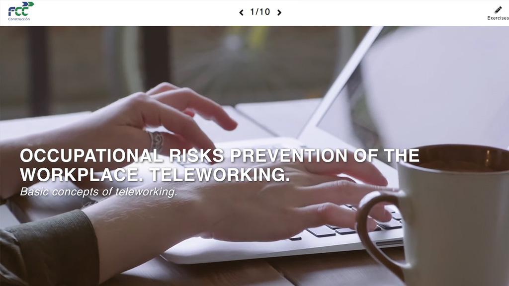Prevención de Riesgos Específicos del Puesto de trabajo. Teletrabajo